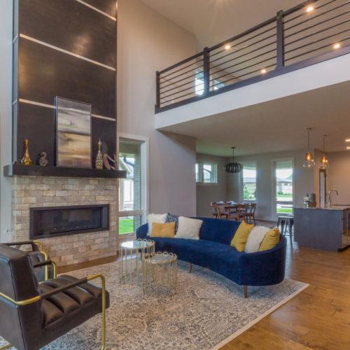 Modern Prairie Interior